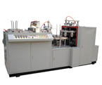 单面淋膜纸碗机=Single Side PE Coated Paper bowl forming Machine
